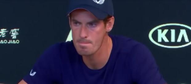 Andy Murray announced his retirement from professional tennis. Photo credit - ESPN/YouTube