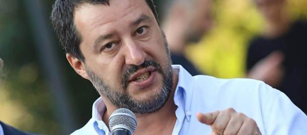 Il Ministro dell'Interno Matteo Salvini (Immagine: Casertaweb)