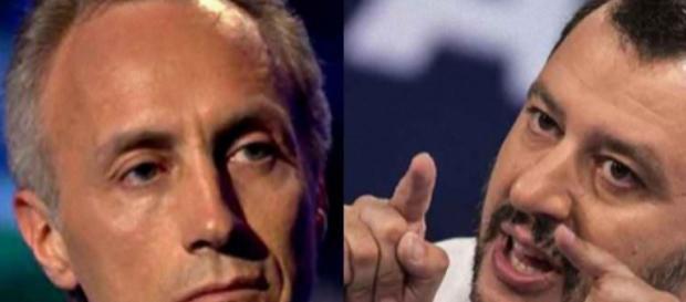 Marco Travaglio attacca Matteo Salvini