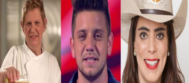 Marli Lucas, Renan Ribeiro e Heloisa Faissol já faleceram (Foto: Band/Globo/Record/PDN Entretenimento)