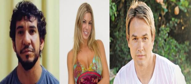 Rodolfo Abrantes, Joana Prado e Chris Duran abandonaram a carreira secular (Foto: PDN Entretenimento)