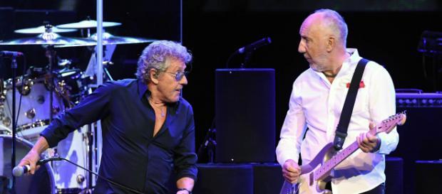 Roger Daltrey e Pete Townshend, membros originais do The Who (Fonte: iheart.com)
