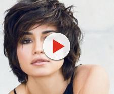 A atriz Nanda Costa de cabelos curtos. (Reprodução/Bol UOL)