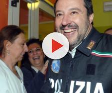 Matteo Renzi contro Matteo Salvini.