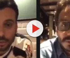 Professor e empresário aparecem em vídeo insultando nordestinos (Reprodução: Facebook)