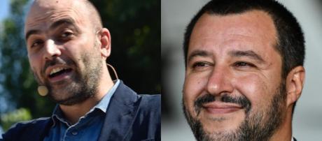 Saviano attacca il ministro dell'interno Salvini.