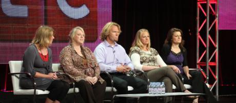 Sister Wives Meri Brown, janelle, Christine and Robyn - Image credit - TLC via google.com