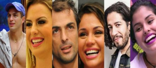 Alguns ex-BBB seguiram carreira artística, mas outros optaram pelo anonimato (Foto: TV Globo)