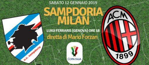 COPPA ITALIA: Sampdoria - Milan a Marassi in diretta su blastingnews.com