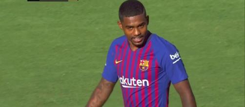 Malcom chegou esta temporada ao Barcelona (Imagem via Youtube)