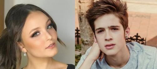Os atores namoraram pouco mais de um ano (Reprodução Instagram Larissa Manoela / SBT)