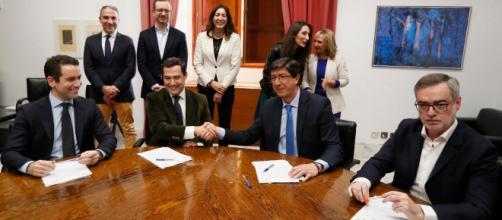 Varias medidas de VOX son comunes a Ciudadanos en Andalucía