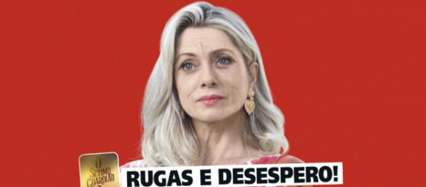 A personagem de Letícia Spiller vai se desesperar (Reprodução/Guia da TV)