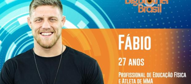 Fábio foi eliminado antes mesmo do programa começar (Crédito: Rede Globo).