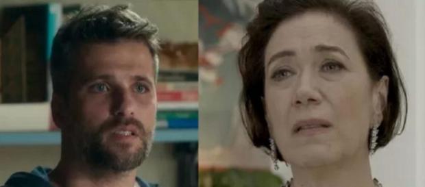 Gabriel e Valentina entram em pé de guerra em O Sétimo Guardião (Foto: TV Globo)