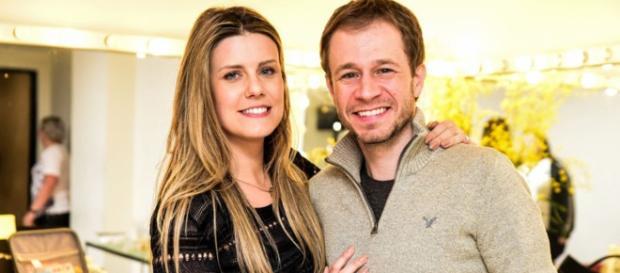 Tiago Leifert é casado com Daiana Garbin desde 2012. (Foto Reprodução)
