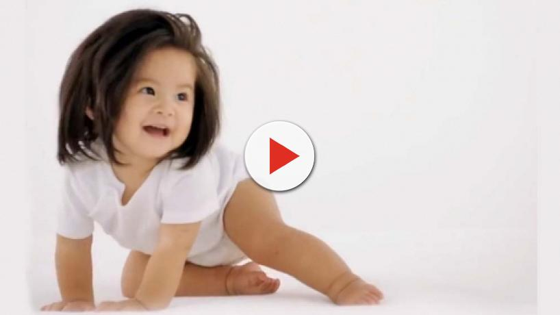 Pantene Japan's new face is one-year-old Baby Chanco