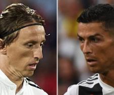 Modric e Cristiano Ronaldo (Imagem via Youtube)