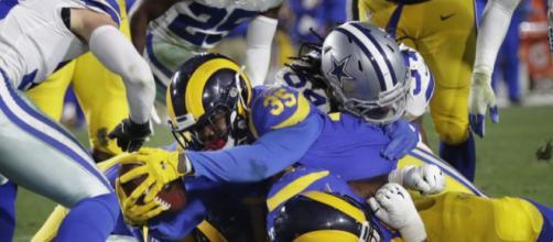 Anderson fue la clave en el triunfo de los Rams.