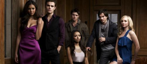Elenco de The Vampire Diaries (Divulgação)