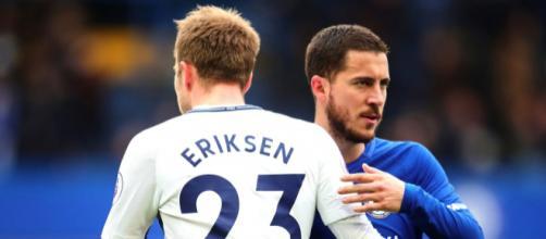 Christian Eriksen et Eden Hazard, bientôt coéquipiers au Real Madrid ? - flipboard.com
