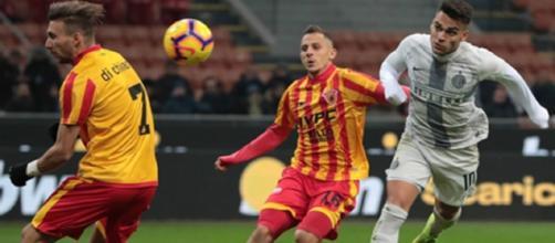 Lautaro Martinez decisivo in Inter-Benevento