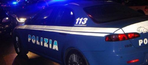 Polizia di Nardò in provincia di Lecce.