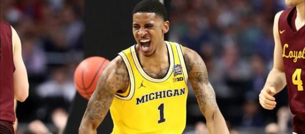 Charles Matthews and the Wolverines are among the favorites to win the NCAA title. [Image via Click on Detroit/YouTube]