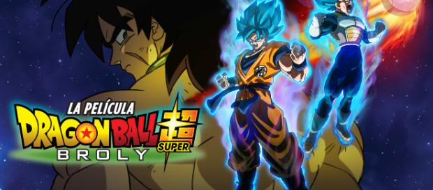 Dragon Ball Super: Broly - poster promocional