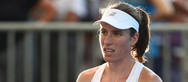 johanna konta -is looking to gain revenge over Tomljanović who beat her recently in Brisbane ... - Picture courtesy of independent.co.uk