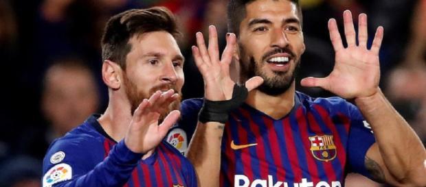 Leo Messi y Luis Suárez suman 31 goles en la Liga