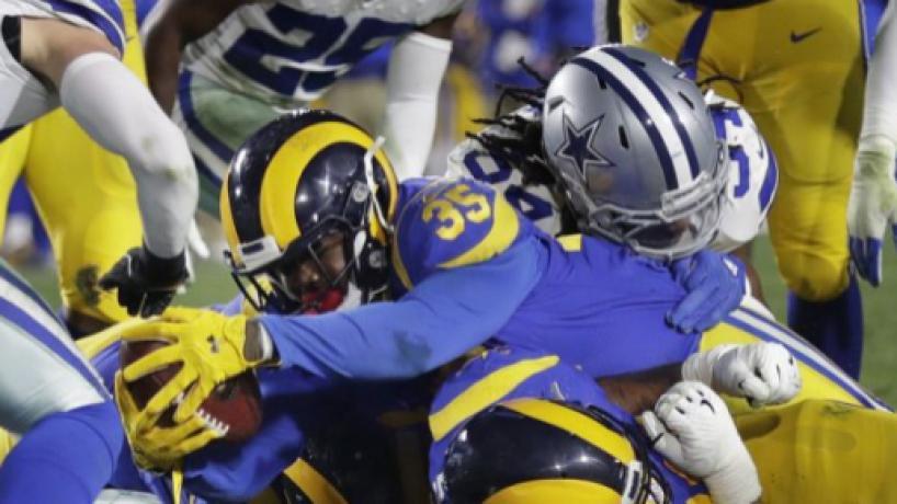 NFL Ronda Divisional/ Rams elimina a Dallas con juego terrestre de Anderson y Gurley