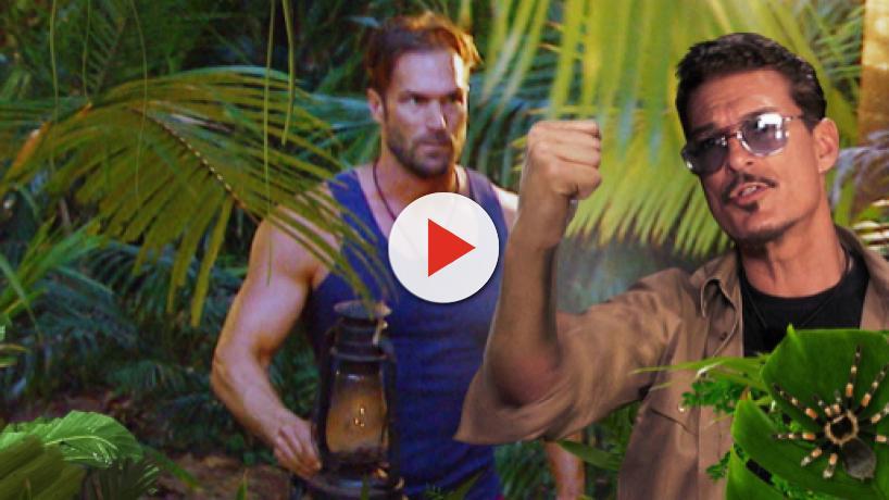 Dschungelcamp: Thorsten Legat fürchtet Prügelei im Dschungel - Yotta gegen Currywurst-Mann