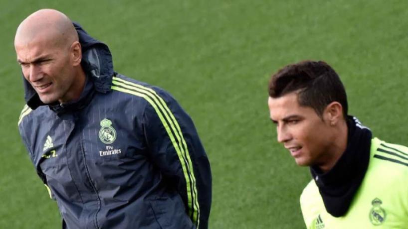 Zidane deixou o Real Madrid por Cristiano Ronaldo sair, diz ex-treinador Calderón