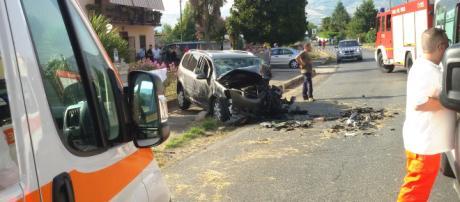 Incidente stradale mortale nel casertano: 24enne muore sul colpo
