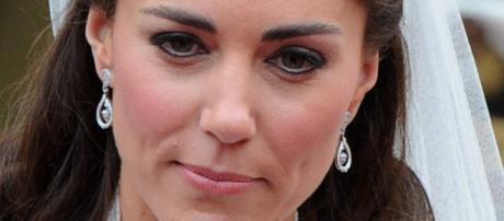 Kate Middleton angry wedding eyes