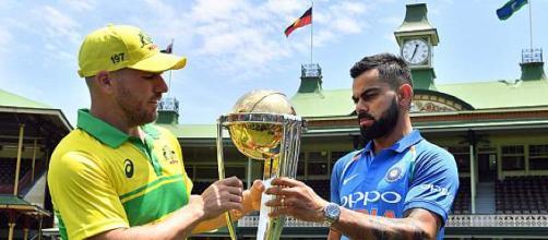 Australia vs India, 1st ODI, SCG (Image via Cricinfo.com/Twitter)