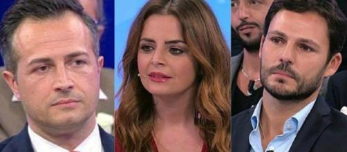 Da sinistra Riccardo Guarnieri, Roberta Di Padua, e Gianluca Scuotto