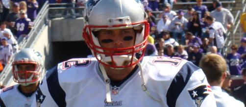Tom Brady and the Patriots are heading to there 8th straight AFC title game. [Image via Wiki Commons]