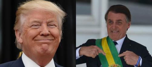Trump ausente, e Bolsonaro protagonista em Davos. (Reprodução)
