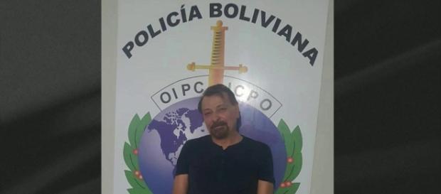 Cesare Battisti foi condenado à prisão perpétua por quatro assassinatos (Reprodução/Polícia Boliviana)