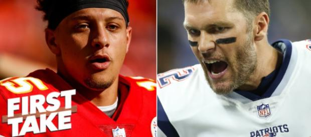 Chiefs and Patriots fighting for a spot in Super Bowl 53. [Image Credit] ESPN - YouTube