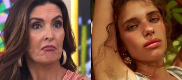 Em seu programa, Fátima Bernardes saiu em defesa da atriz. (Foto Reprodução)
