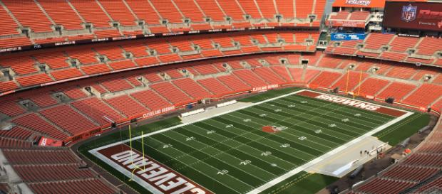 FirstEnergy stadium, the home of the Cleveland Browns. [image source: Jon Ridinger- Wikimedia Commons]