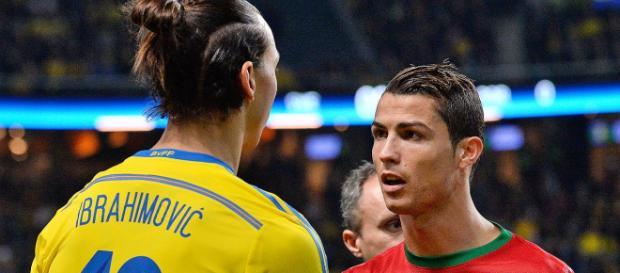 Football : Ibrahimovic dénonce 'les conneries' de Ronaldo