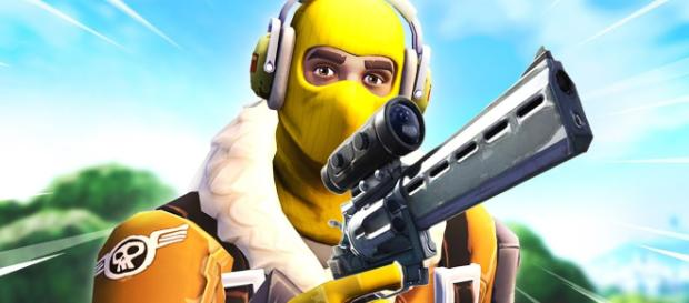 A Scoped Revolver is coming to Fortnite. [Image source: MikeyATF / YouTube]