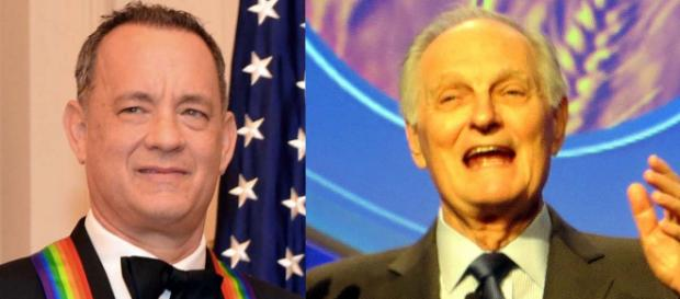 Tom Hanks will hand a lifetime achievement award to actor Alan Alda. [Images Hanks 	U.S. Department of State/Wikimedia - Alda Alan Kotok/Flickr]