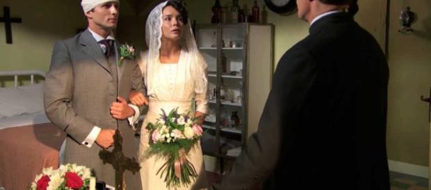 Una Vita, spoiler del 15 gennaio: Samuel e Blanca si sposano, Simon dichiara di amare Elvira