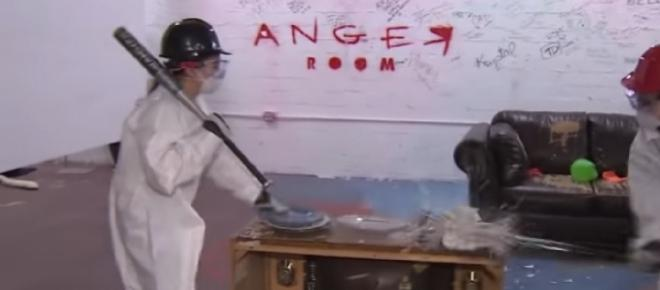 Beijing has an Anger Room where people can smash up things to vent their anger