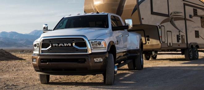 Ram 3500, al Salone di Detroit Fca con un valore record per rimorchiare carichi pesanti